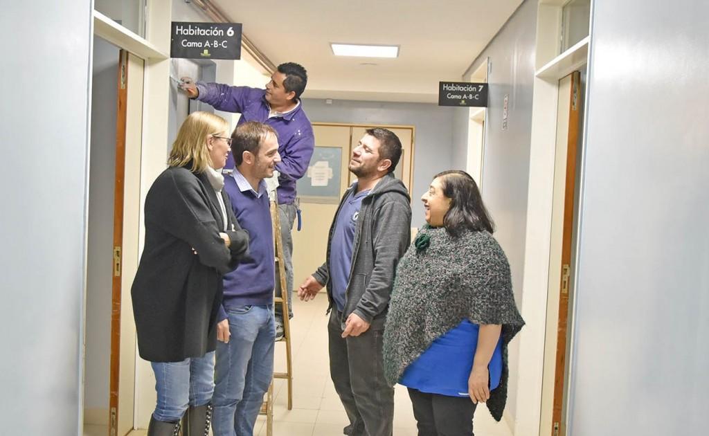 Realizan nuevas tareas de mantenimiento en el hospital Municipal