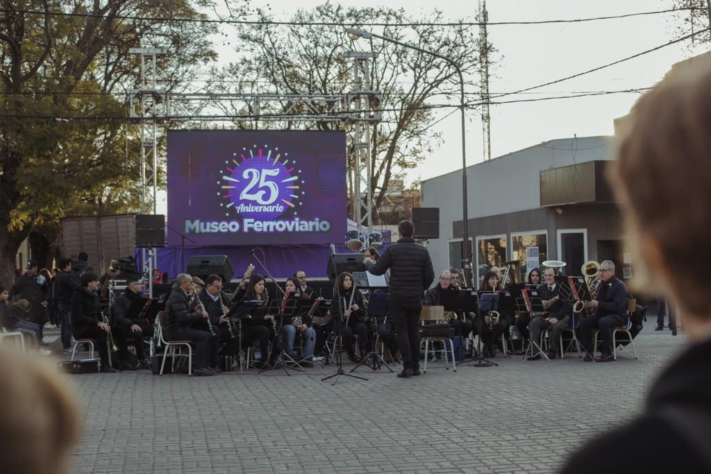 El Museo Ferroviario cumplió 25 años y lo festejaron con muchas propuestas culturales
