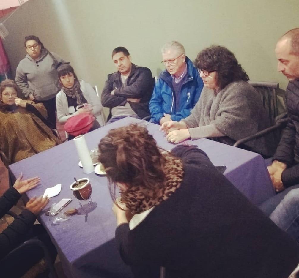 Rubén Romano se reunió con vecinos de Otamendi