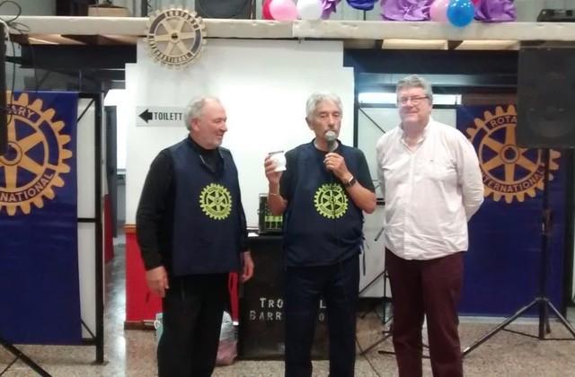 ROTARY CLUB CAMPANA:  Cena del Día del Amigo