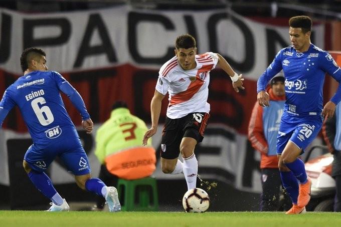River Plate empató sin goles con Cruzeiro de Brasil