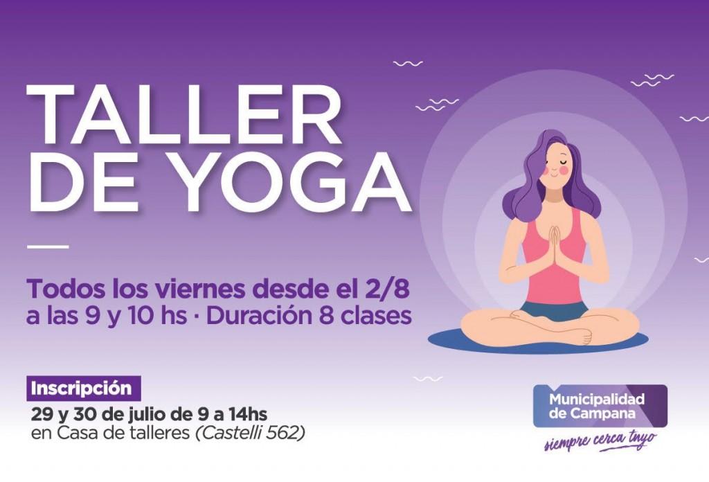 El Municipio dictará nuevas clases gratuitas de yoga