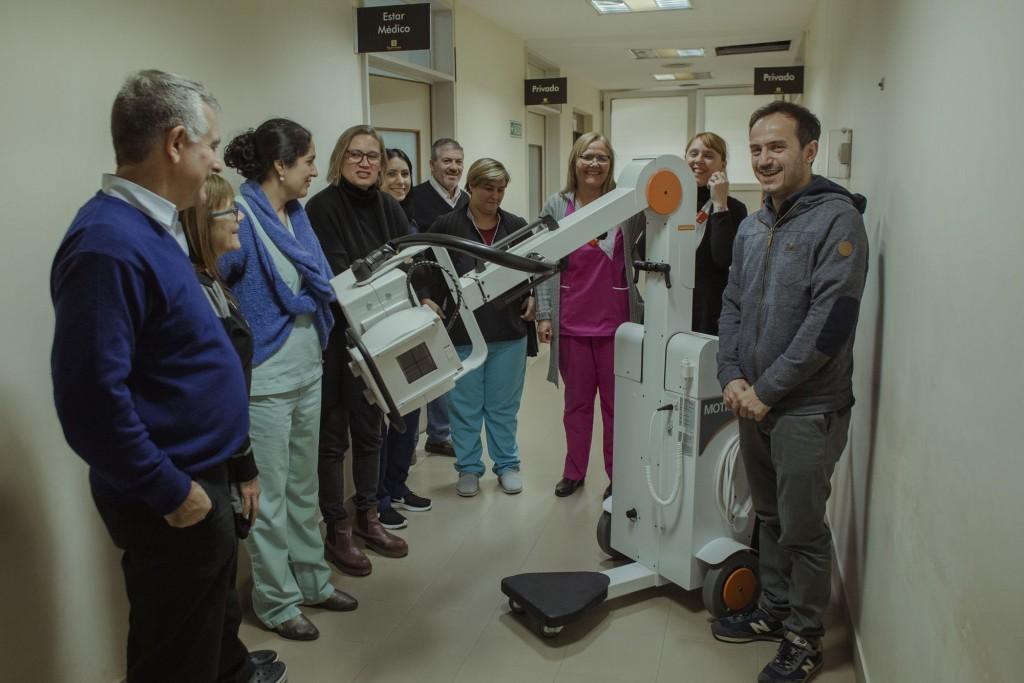 El hospital municipal sigue sumando equipamiento de última generación
