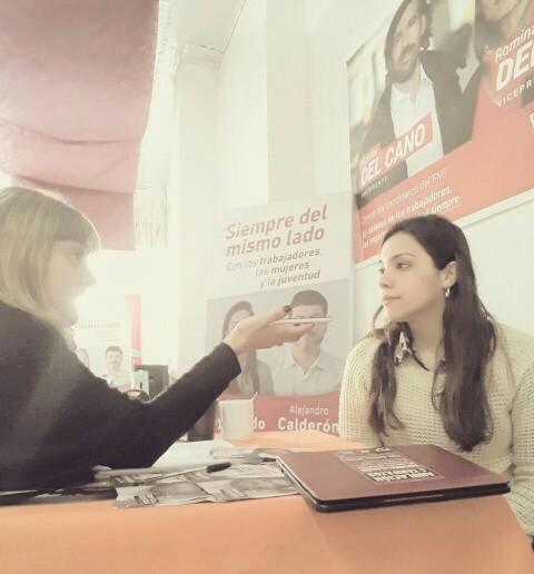 Brenda Reymundo la única candidata a Intendente en Campana