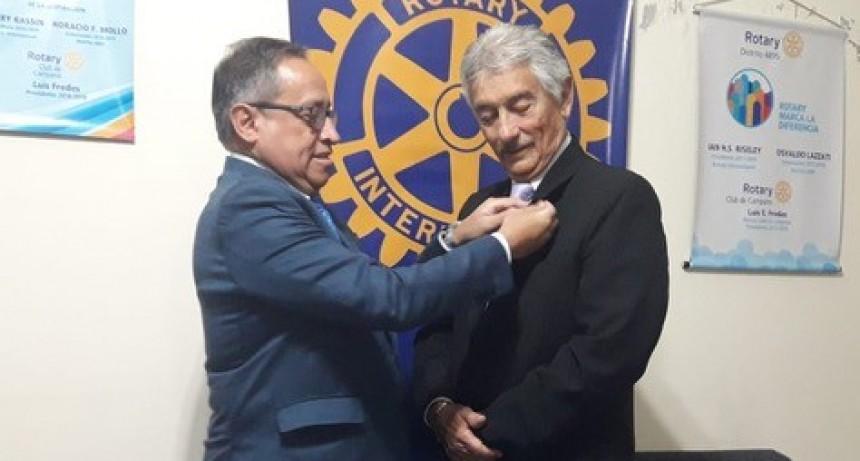 ROTARY CLUB CAMPANA : RENOVACION DE AUTORIDADES