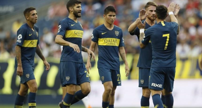 Boca Juniors disputó un nuevo partido preparatorio