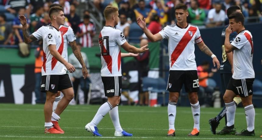 River Plate sigue sumando minutos de fútbol