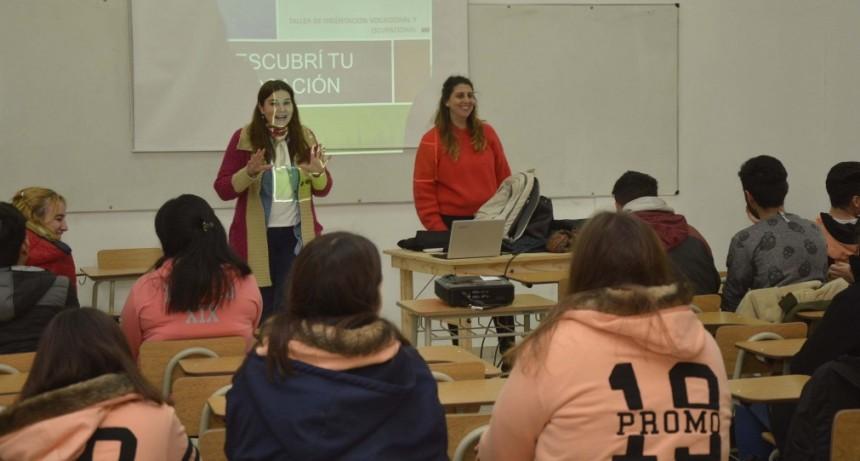 El Municipio acompaña a los jóvenes en la elección de su futuro profesional