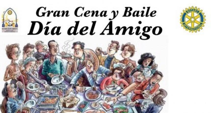 """ROTARY CLUB CAMPANA : GRAN """"FIDEADA"""" DEL DIA DEL AMIGO"""