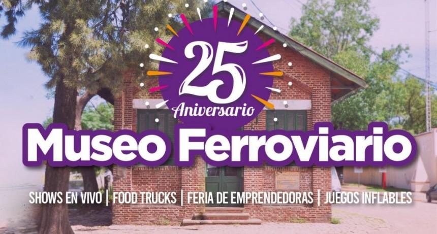 El Museo Ferroviario celebra este domingo su 25º aniversario