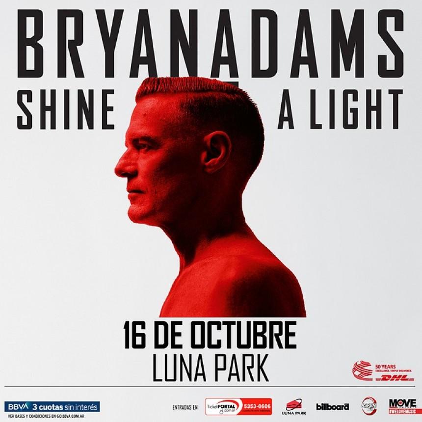 ¡BRYAN ADAMS  EN ARGENTINA!