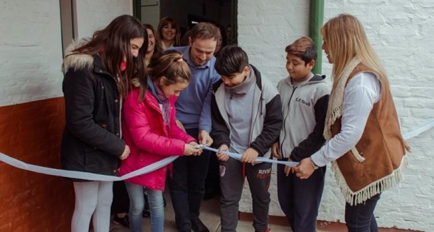 Las Acacias: inauguran obras de ampliación en la Escuela Primaria Nº 3