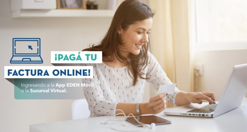 Más servicios EDEN: pagá la factura desde tu celular