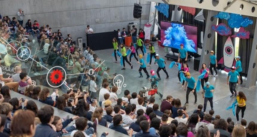 Estudiantes de la Escuela Técnica Roberto Rocca vivieron una nueva edición de Clubes TED-Ed