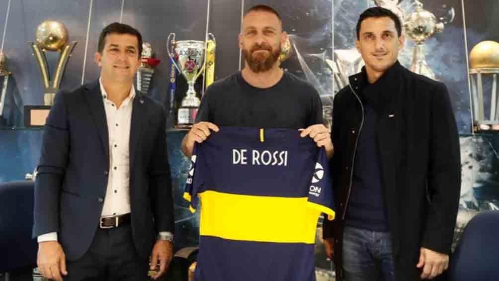 De Rossi: pisar la Bombonera será una experiencia incomparable