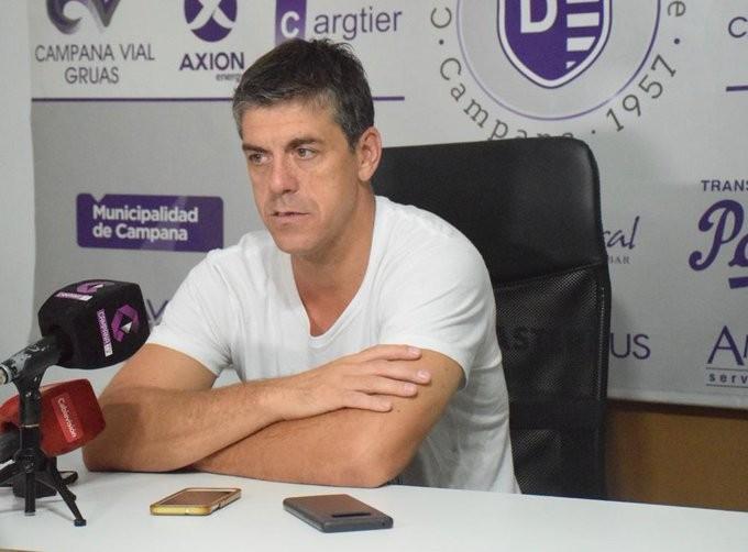 Felipe De la Riva se refirió a la actualidad de Villa Dálmine y los protocolos para volver
