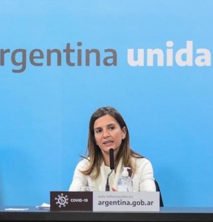 """FERNANDA RAVERTA: """"EL PRESIDENTE HA LOGRADO CON EL INGRESO FAMILIAR DE EMERGENCIA QUE CASI 3 MILLONES DE PERSONAS NO CAIGAN EN LA POBREZA"""""""