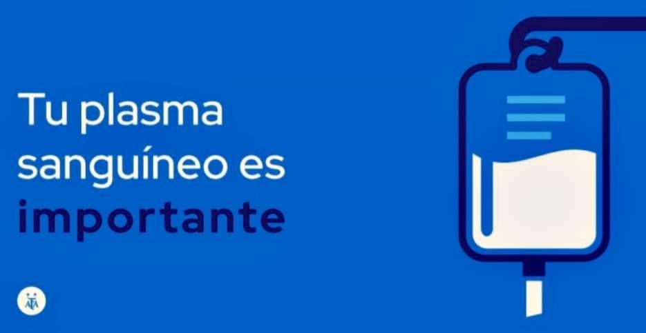 #Institucional | CAMPAÑA DE DONACIÓN DE PLASMA