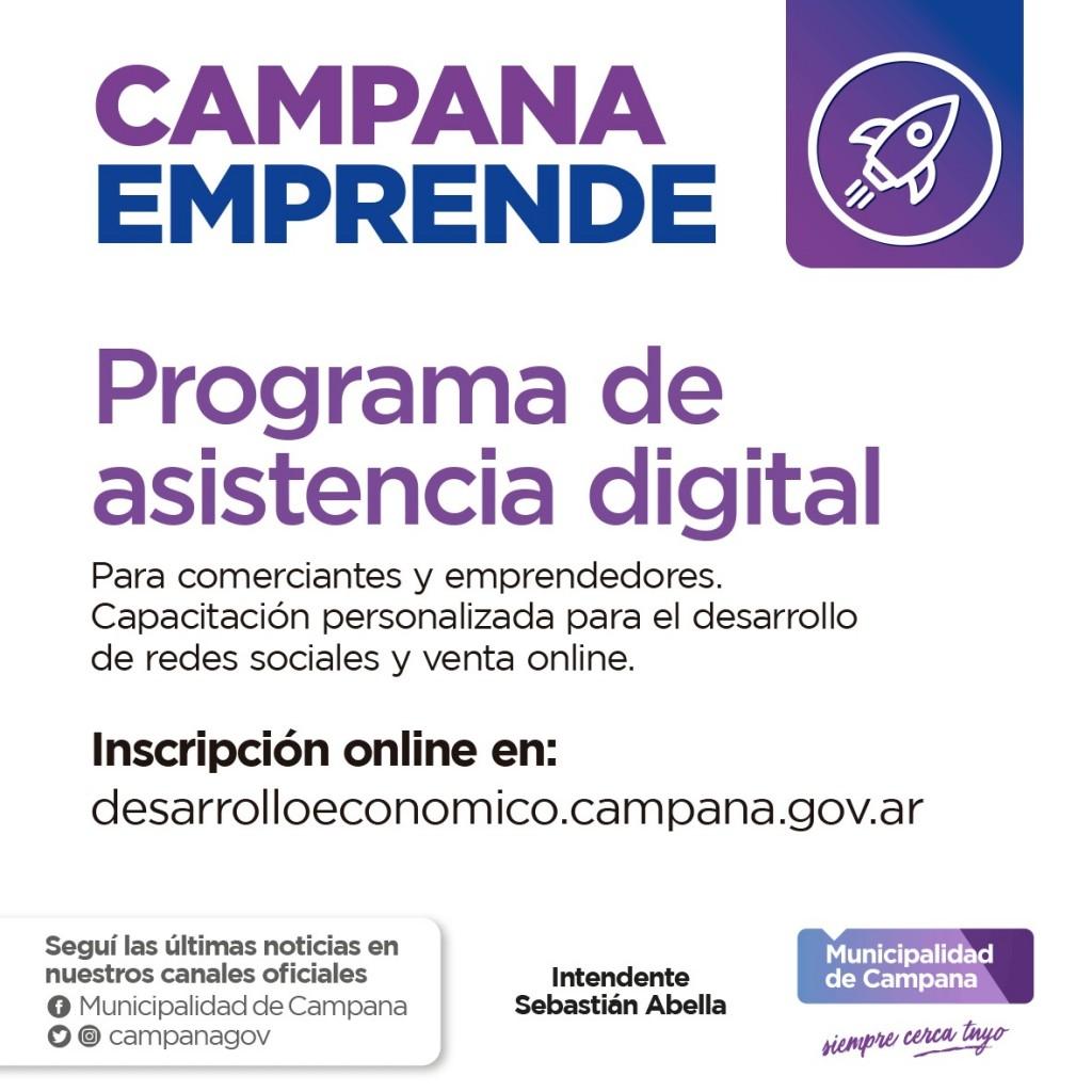El Municipio lanza la inscripción para el programa de asistencia digital