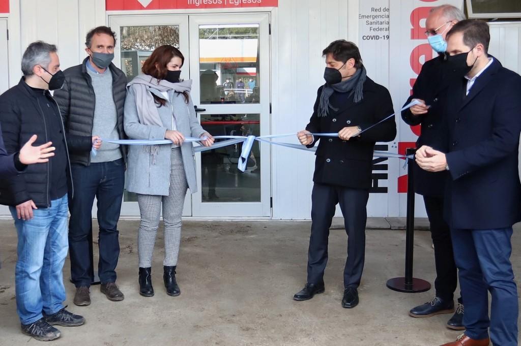 Kicillof participó de la inauguración de un CAPS en Moreno