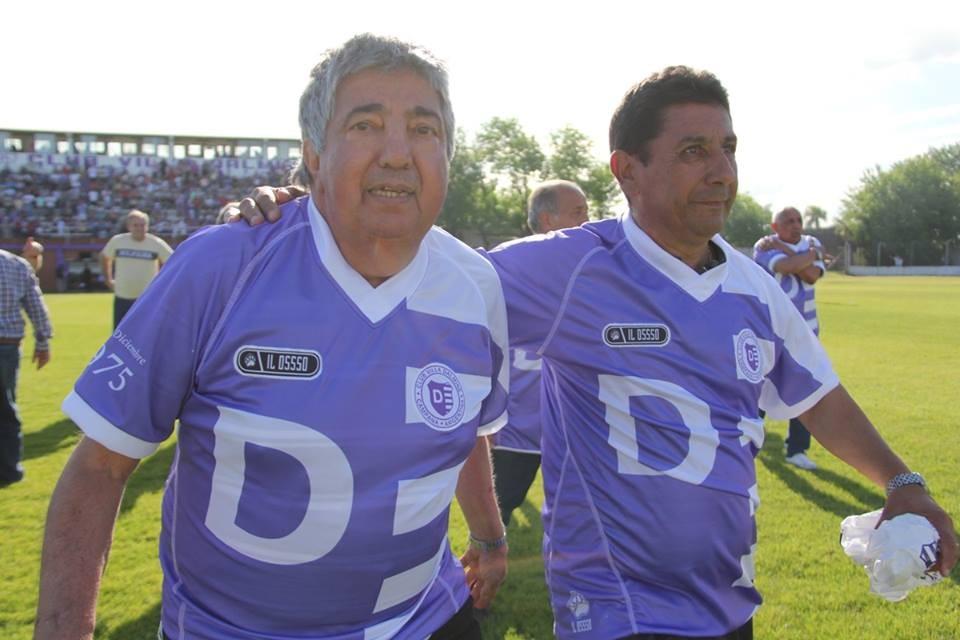 Villa Dálmine está de luto por el fallecimiento de su máximo goleador de la historia : Juan Alberto Martínez