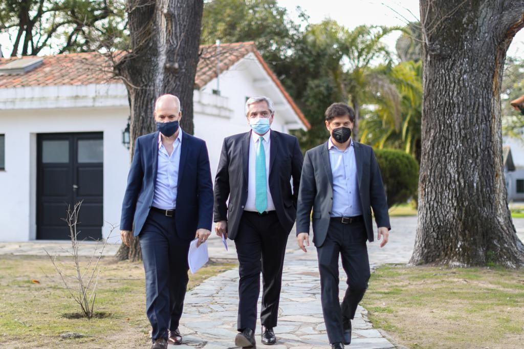 Cuarentena : El Presidente anuncio la misma hasta el 16 de agosto