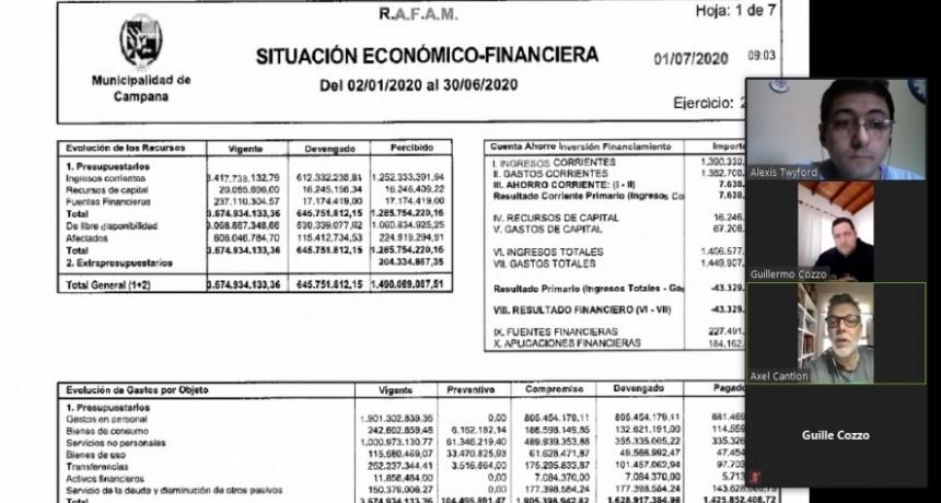 """Bloque U.V Más Campana : """"El primer semestre muestra un agujero financiero de $350 millones"""""""