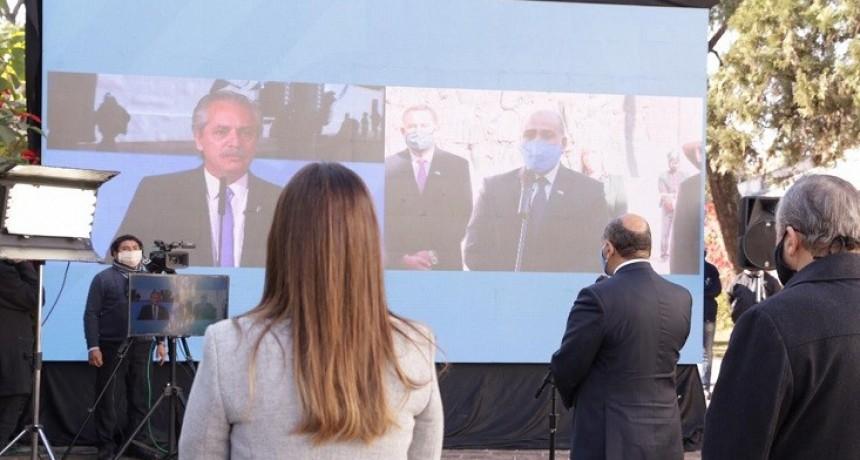 El Presidente encabezó el festejo patrio por videoconferencia