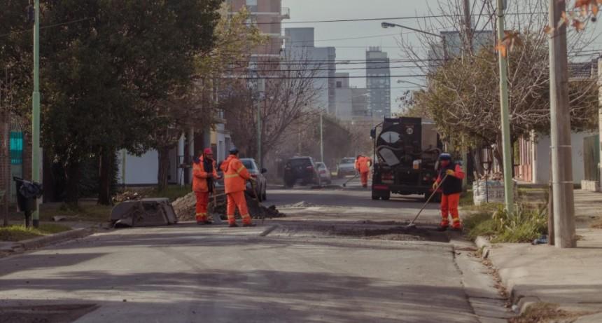 El Municipio hizo cumplir la garantía en la obra de asfalto de la calle 9 de julio