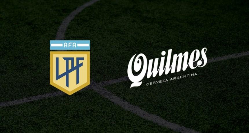 Quilmes se une a la AFA para ser el nuevo sponsor de la Liga Profesional de Fútbol