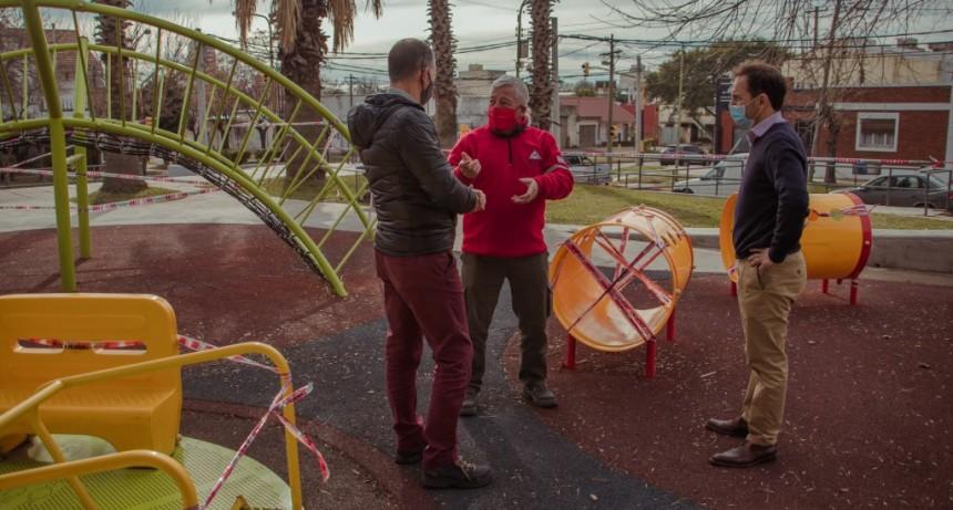 Cercan los sectores de juegos en las plazas y espacios públicos