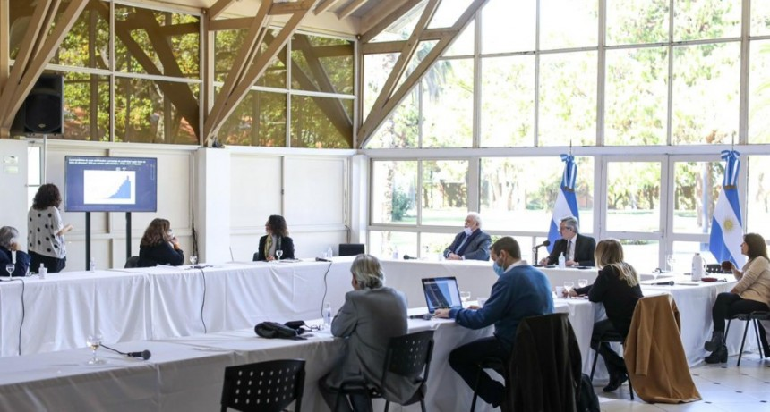 Coronavirus: El Presidente se reunió con los infectólogos que integran el Comité de Expertos
