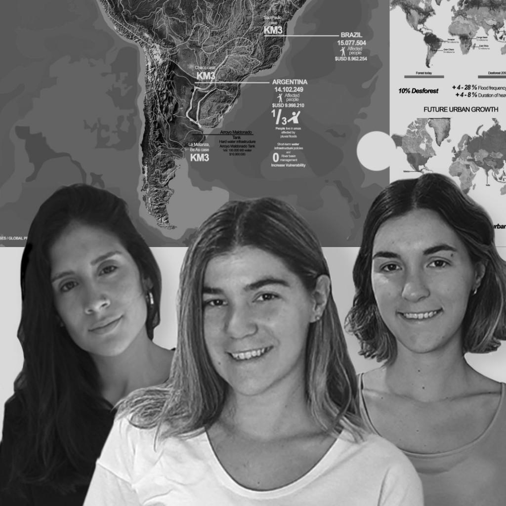 Tres jóvenes cordobesas fueron premiadas en una nueva edición de los LafargeHolcim Awards