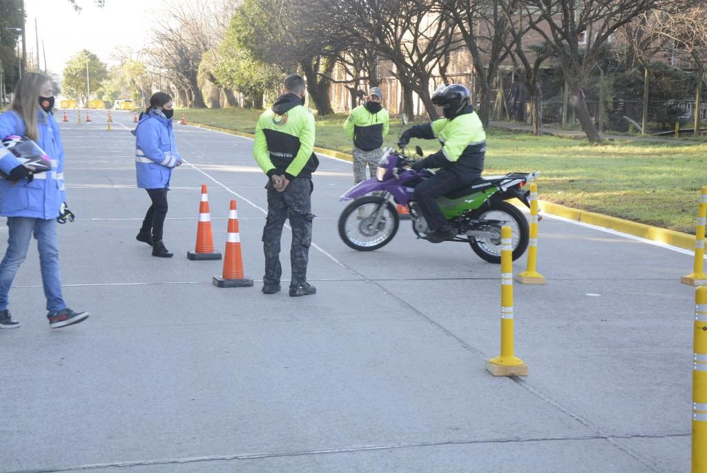 Por primera vez, Campana tendrá una pista para hacer el examen de manejo de motos