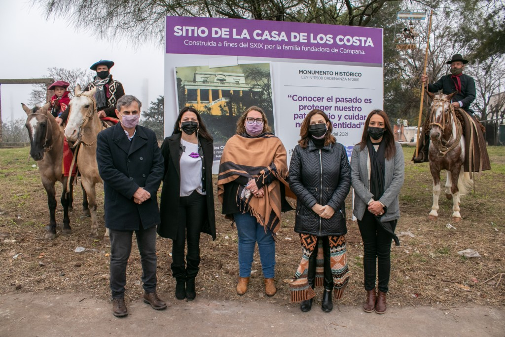 Desde Juntos por el Cambio destacaron las gestiones de Abella para recuperar el patrimonio histórico de la ciudad