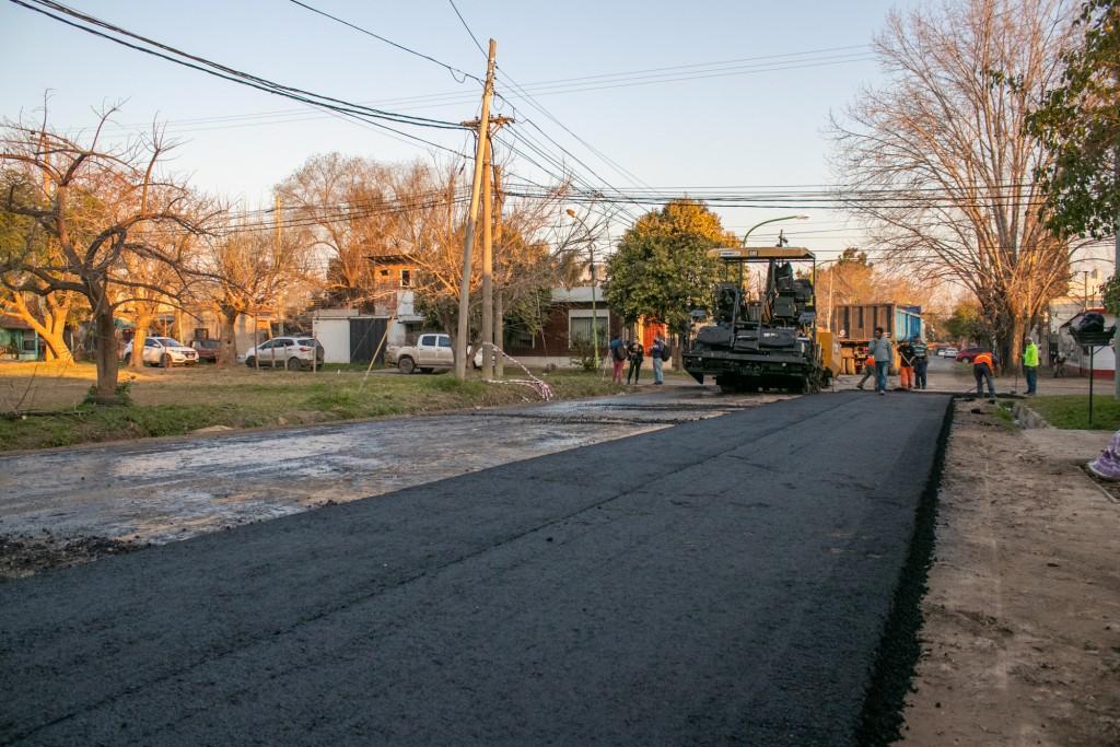 Concejales de Juntos por el Cambio resaltaron la inversión histórica en obras de asfalto
