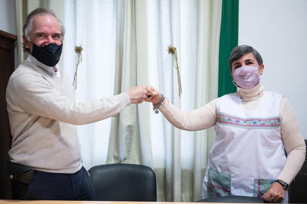 La Escuela Técnica Roberto Rocca y Tenaris anunciaron el desembarco del programa ExtraClase en la Escuela Primaria Nº10 de Campana