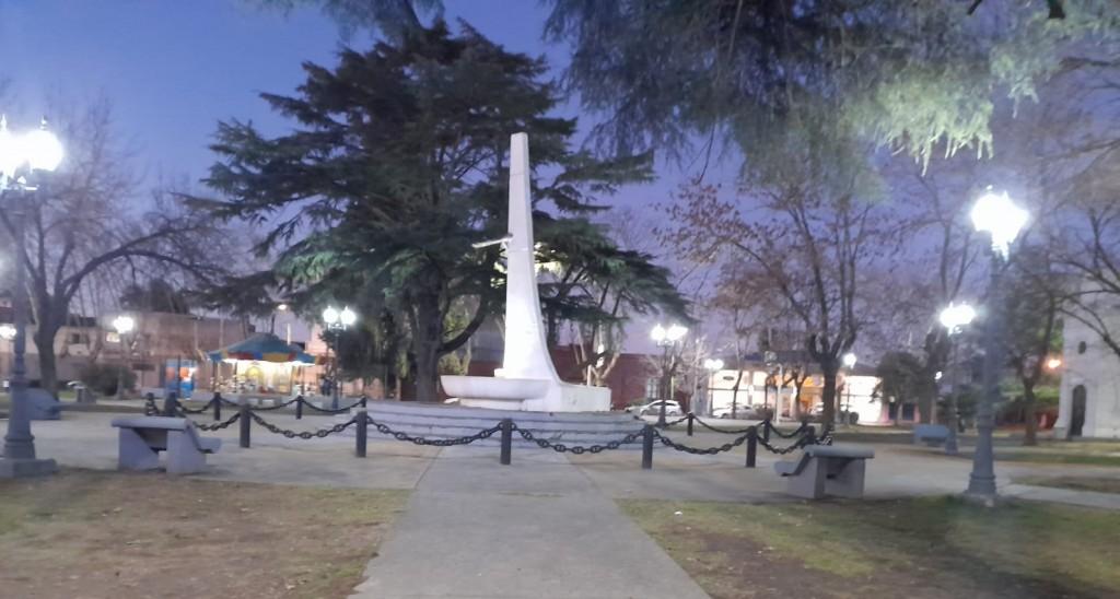 Nuevas luces LED para la Plaza Italia