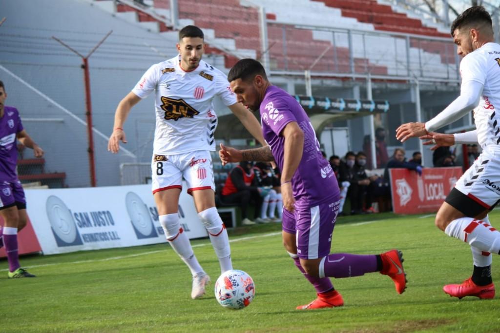 Tercera derrota consecutiva de Villa Dálmine
