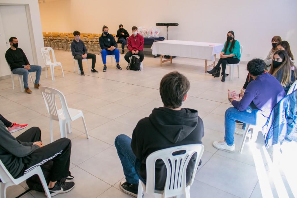 Elisa Abella se reunió con destacados deportistas de la ciudad