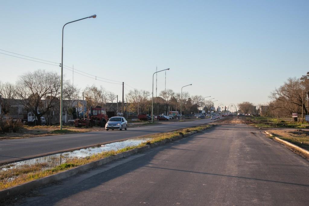 Abella confirmó el comienzo de la obra que concluirá la ampliación de la avenida Rivadavia