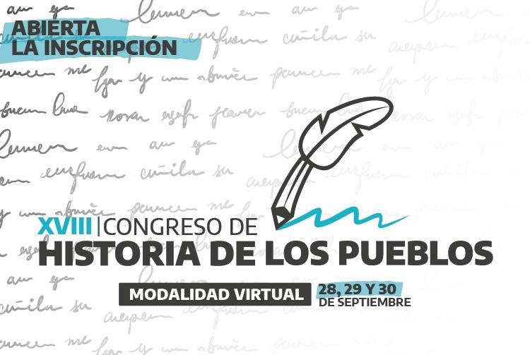 CULTURA Abre la convocatoria al XVIII Congreso de Historia de los Pueblos
