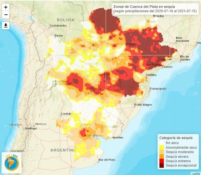 Bajante del Paraná: Causas y perspectivas