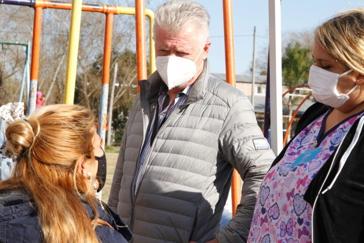 Este fin de semana, vecinos de Las Acacias y 9 de Julio podrán vacunarse contra el COVID-19 en su barrio