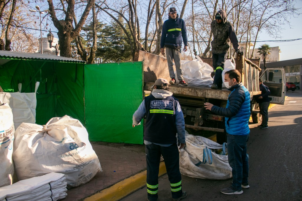 El Municipio recolectó 15 toneladas de residuos reciclables en dos meses