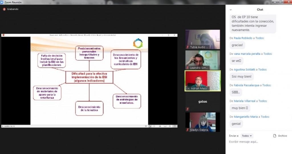 Educación : El Grupo AcercaRSE continúa con el ciclo de capacitación para docentes