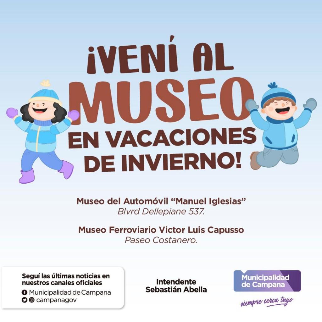 En la segunda semana de vacaciones, los museos municipales continuarán abiertos