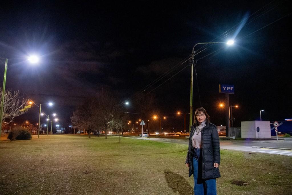 CASARETTO : Con luces LED, Abella sigue brindando mayor seguridad y más tranquilidad a todos los vecinos