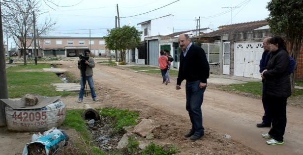 """Cazador en el Lubo: """"Se refiriò a la obra de la calle La Rioja"""
