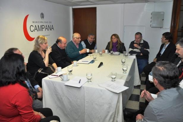 Autoridades de PAMI Central mantuvieron una reunión de trabajo con Funcionarios Municipales